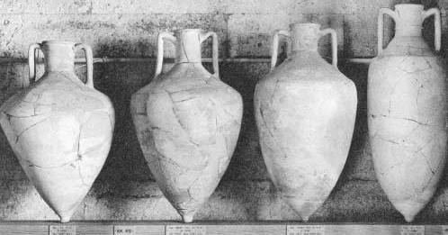 Amfory do transportu dóbr z 1500 r. p.n.e.